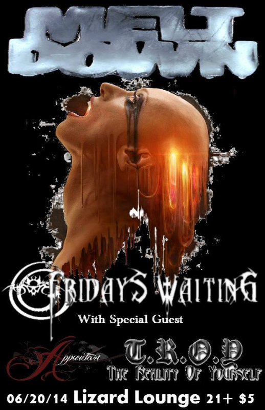 TROY at Lizard Lounge in Wichita, KS w/ Fridays Waiting