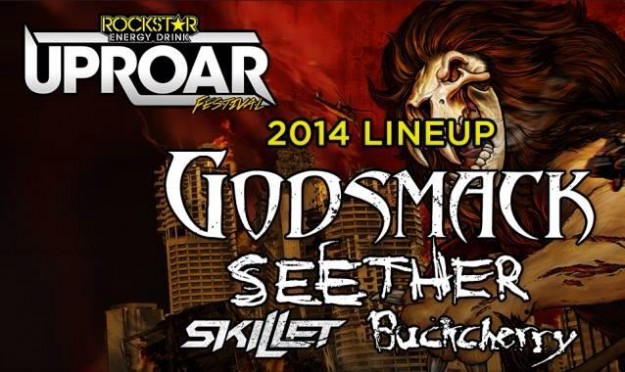 TROY wins first round of Ernie Ball Battle of the Bands and will play 2014 Rockstar Uproar Festival with rock artists Buckcherry, Skillet, Godsmack and more.