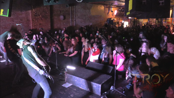 TROY Evolution show at the Outland Ballroom - in celebration of TROY winning the Ernie Ball National BOTB