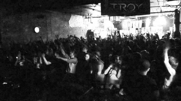 TROY crowd shot from Evolution Showcase show Part I at the Outland Ballroom on July 10th, 2015.