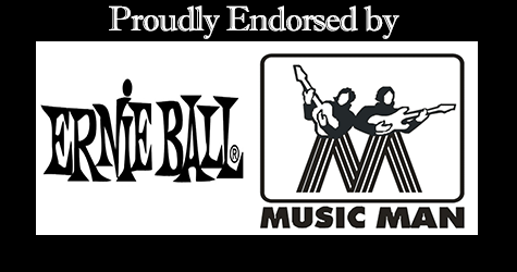 TROY proudly endorsed by Ernie Ball.