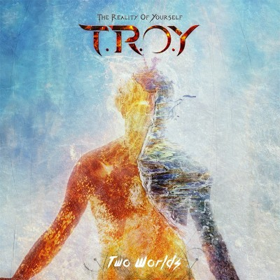 "TROY  ""Two Worlds"" EP Cover. The Reality Of Yourself music."