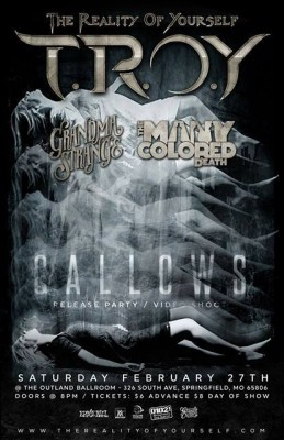 Gallows Release Flyer