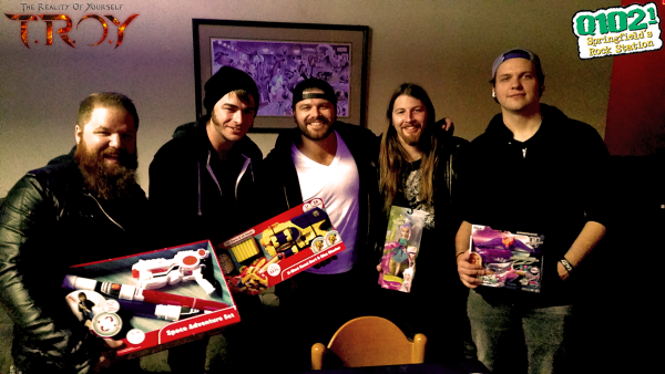 TROY donates towards Toys for Tickets 2015