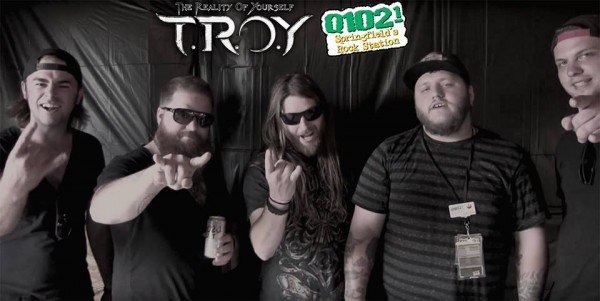 TROY with Baden from Springfield's Rock Station Q1021