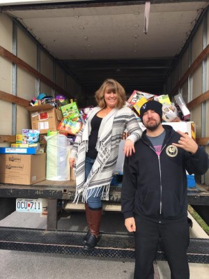 Q1021 2nd Annual Toys for Tickets Donation Truck